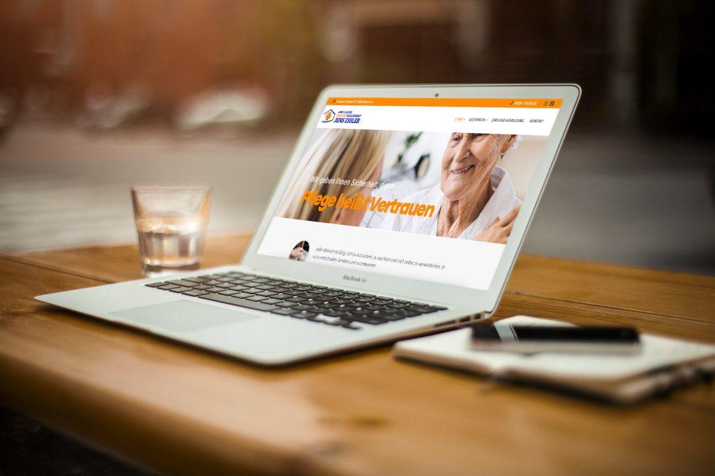 Neue Webseite online - Pflegedienst-Essler.de